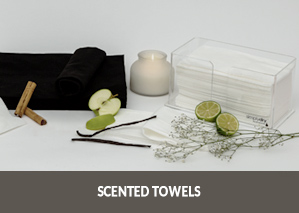 Disposable scented towels - make your towels delicately fragranced