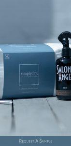 Request a FREE Simpldry Disposable Salon Towel Pack